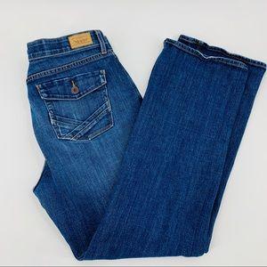 Levi's Perfect Waist 525 Blue Boot Cut Jeans